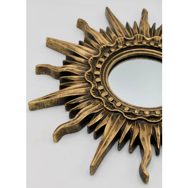 Antique French Sunburst Mirror For Sale - Image 10 of 13