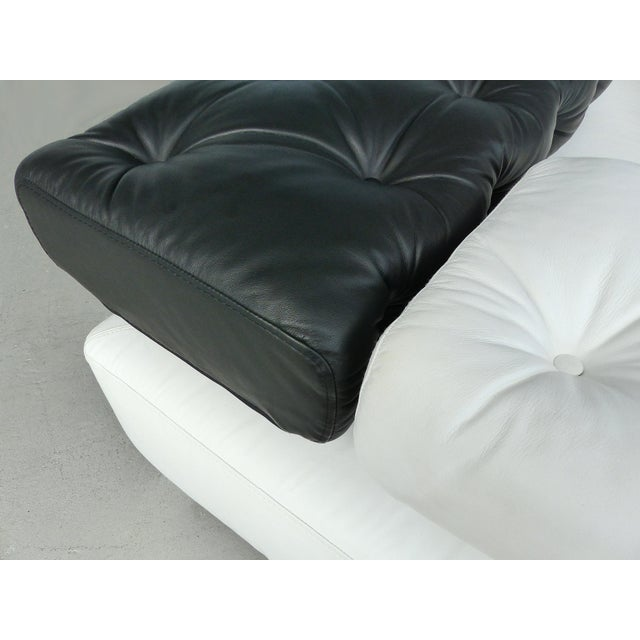 """""""Sunrise Two"""" Leather Bruehl of Germany Daybed For Sale - Image 11 of 11"""