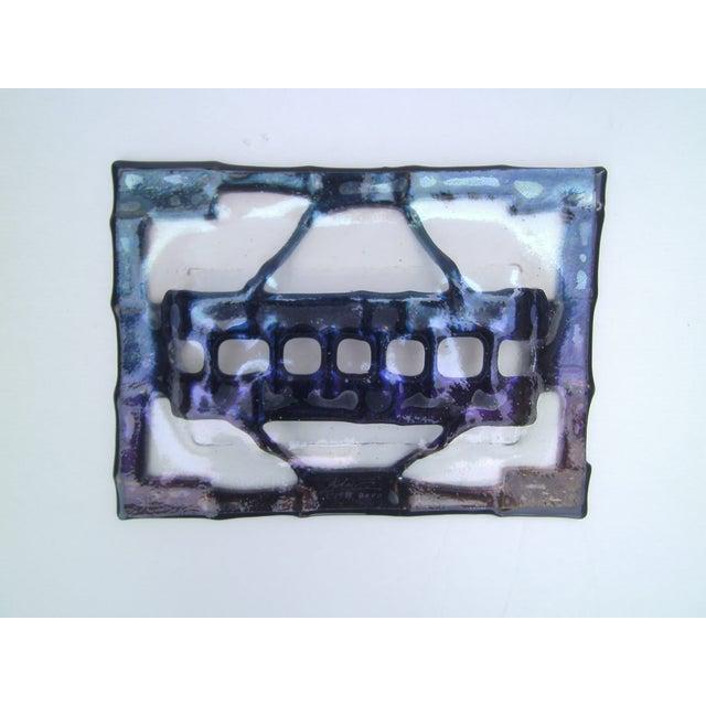 Decorative Fused Glass Dish - Image 5 of 8