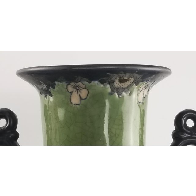 Monumental Baum Bros Vase - Jacobean Urn With Handles For Sale In San Francisco - Image 6 of 13