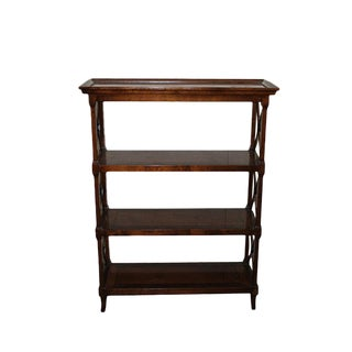 Vintage Traditional Wood Bookshelf