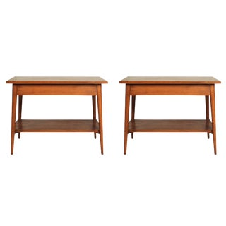 Paul McCobb Planner Group for Winchendon Lamp Tables - a Pair For Sale