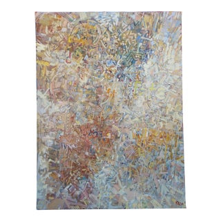 Abstract Expressionist Oil on Canvas by Chet Kalm For Sale