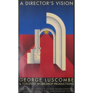 1998 Original Canadian Exhibition Poster - a Director's Vision For Sale