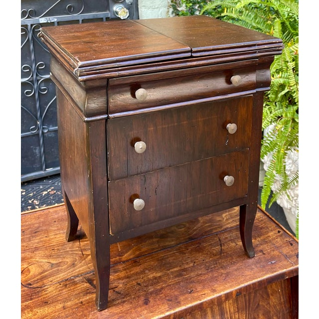 Early 20th Century Antique Salesman's Sample Diminutive Chest of Drawers For Sale - Image 5 of 6