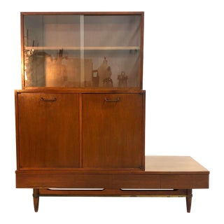 Mid Century Modern Dania Collection Server / Credenza by American of Martinsville For Sale