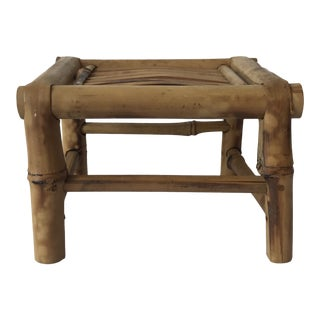 Mid-20th Century Bamboo Stand/ Platform For Sale