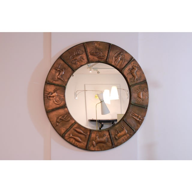 Astrology Relief Mirror For Sale - Image 9 of 9