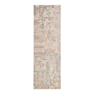 Blush, Handmade Runner Rug - 2' 6 x 10 For Sale