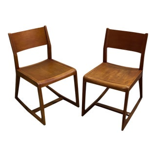 Mid Century Modern Rocking Chairs - a Pair For Sale