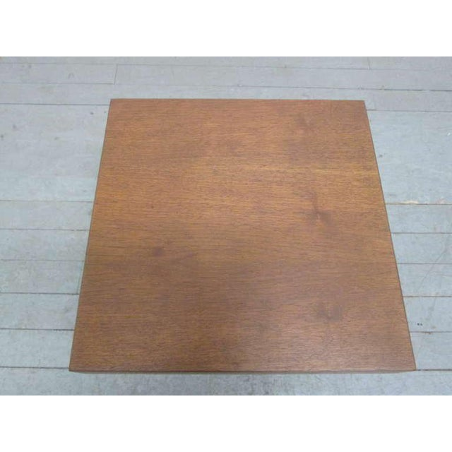 Craft Associates Pair of Walnut Occasional Tables by Milo Baughman For Sale - Image 4 of 5