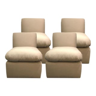 J. Robert Scott Plaza Slipper Chairs - Set of 4 For Sale