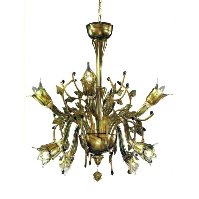 Distinguished monumental four elements venetian glass chandelier monumental four elements venetian glass chandelier earth water air and fire aloadofball Images