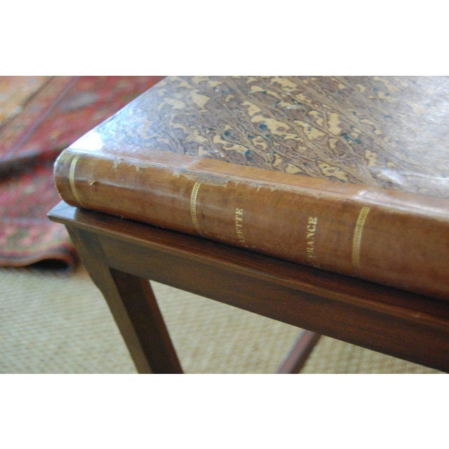 Mid 19th Century French Gazette on Stand For Sale - Image 5 of 8