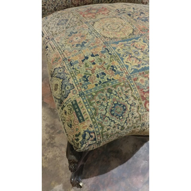 19th Century Victorian Tapestry Chairs - A Pair For Sale - Image 10 of 10