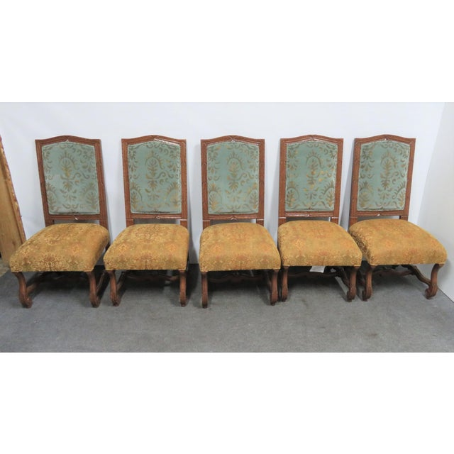 Mid 20th Century Rococo Style Italmond Furniture Co Dining Chairs - Set of 10 For Sale - Image 5 of 12