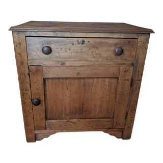 Antique Pine Cabinet For Sale