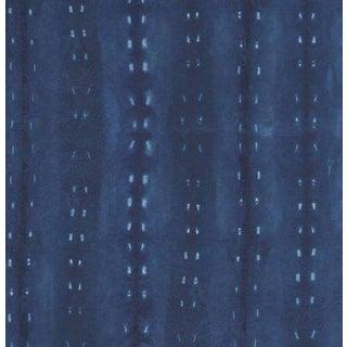 Tribal Shibori Printed Wallpaper For Sale