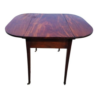 Late 18th Century Americana Mahogany Pembroke Table