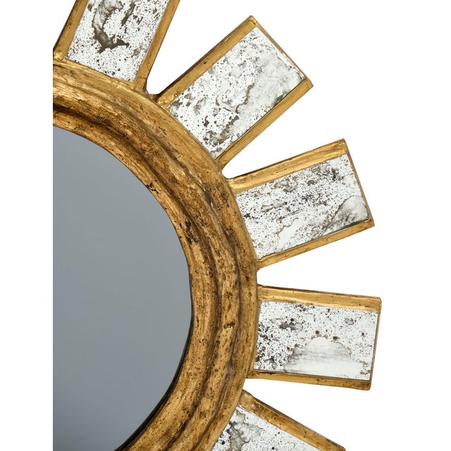 French Sunburst Mirror For Sale - Image 4 of 11