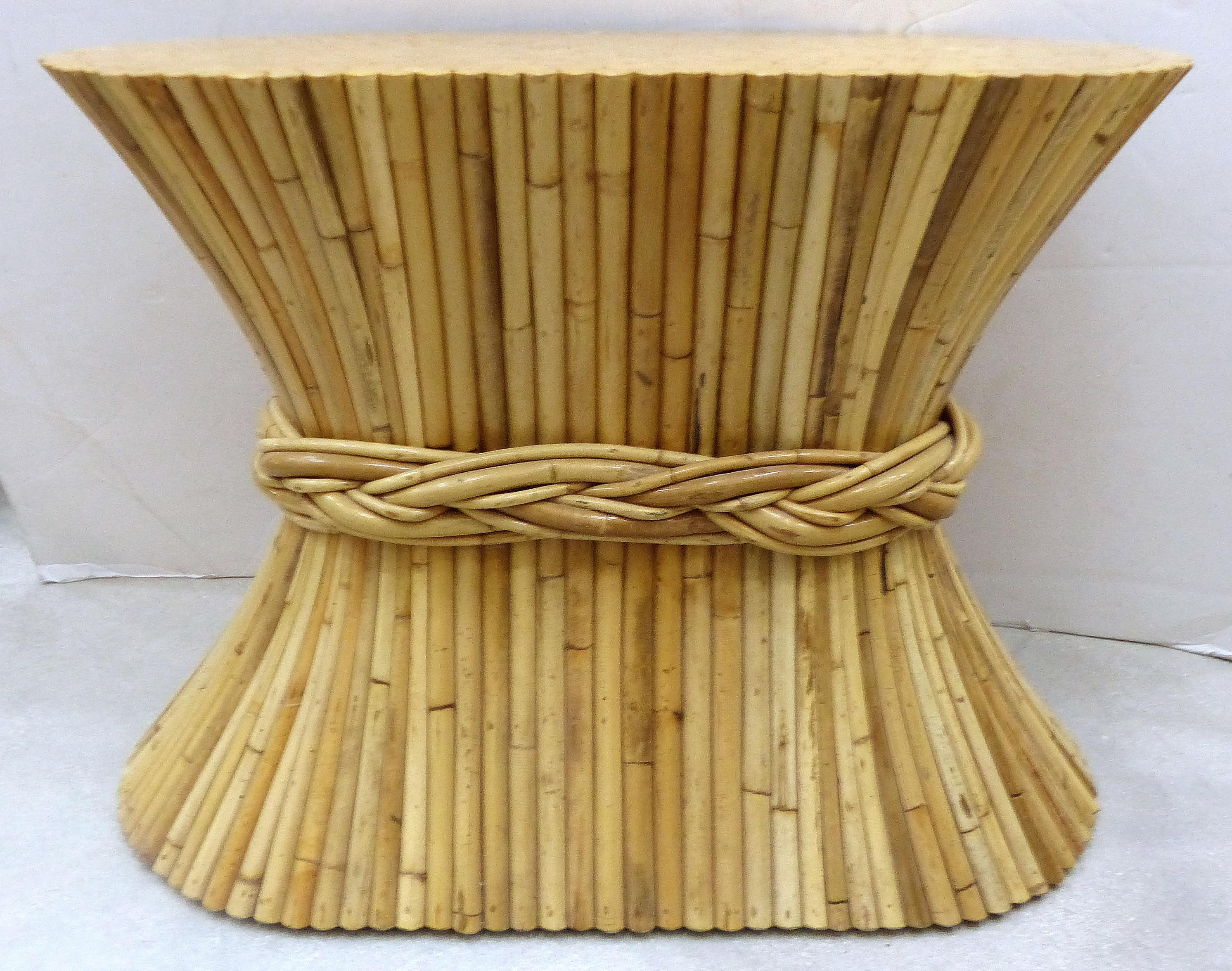 McGuire Rattan Table Base   Image 2 Of 10