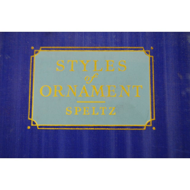 The Styles of Ornament by Alexander Speltz - Image 6 of 11