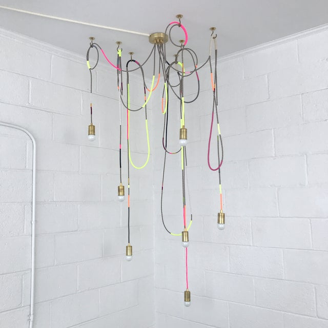 Lasso Chandelier by Chad Wentzel Made For Sale - Image 13 of 13