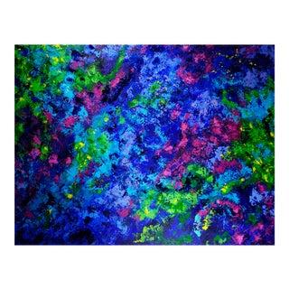 """Catherine Viann """"Temperamental Waves"""" Painting"""