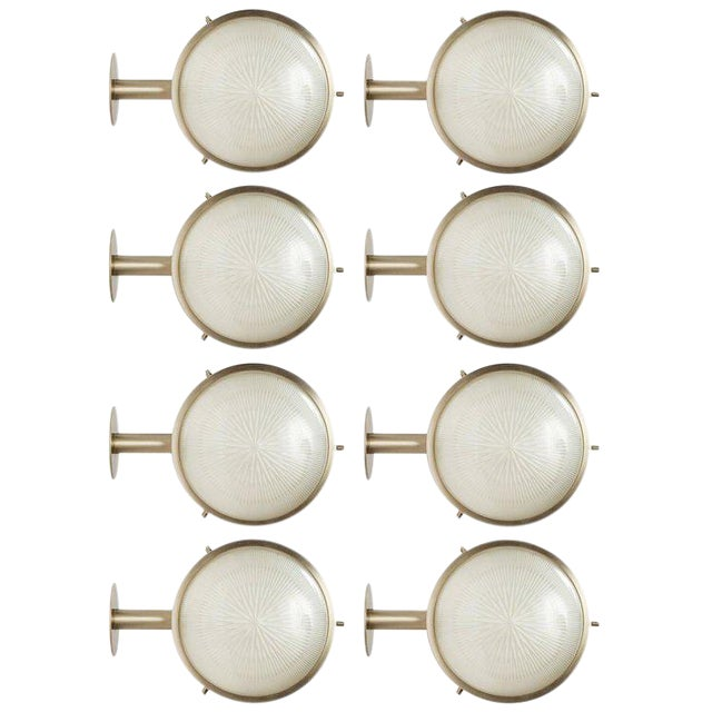 Mid-Century Modern Sergio Mazza Sigma Sconce For Sale - Image 3 of 10