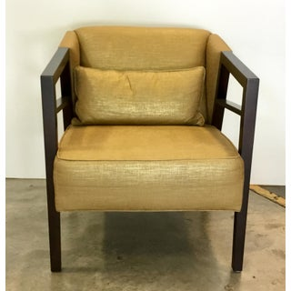 Thomasville Modern Gold Lounge Chair Preview