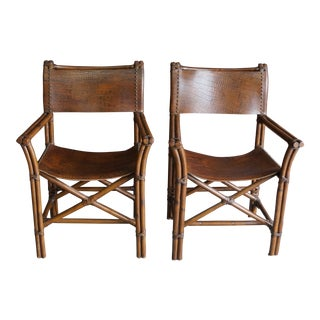 Vintage Mid Century Directors Chairs- A Pair For Sale