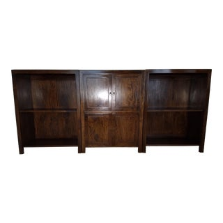 Custom Mango Wood Display & Storage Cabinets For Sale