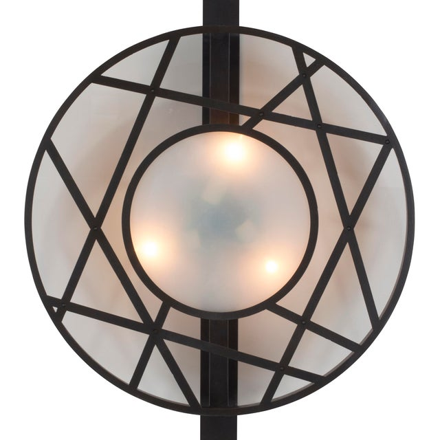 Contemporary Icon Sconce (Dark Bronze) For Sale - Image 3 of 4