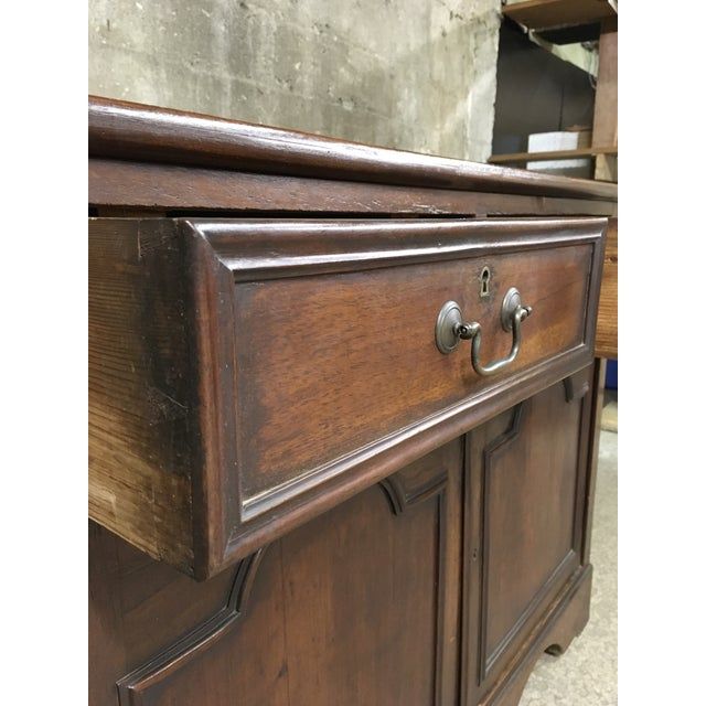 Mid 19th Century Antique English Petite Sideboard For Sale - Image 9 of 12