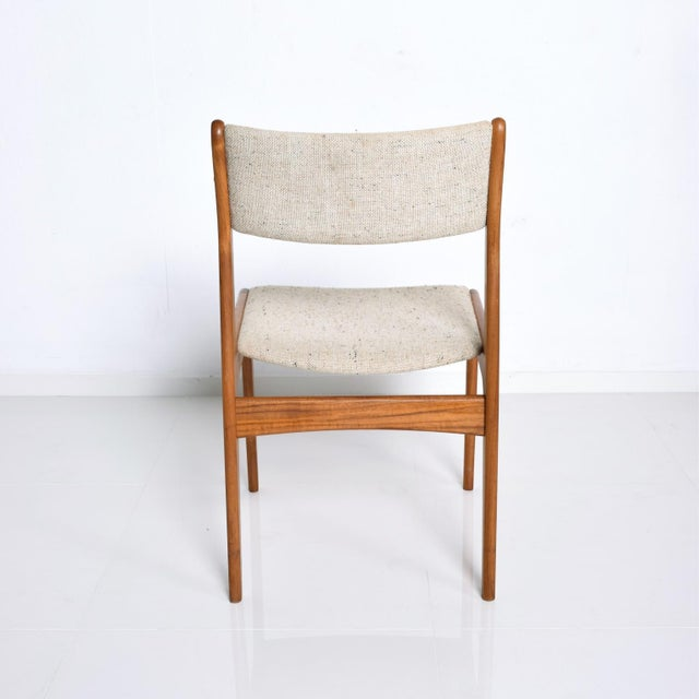 Wood Benny Linden Mid-Century Danish Modern Teak Dining Chairs - Set of 4 For Sale - Image 7 of 11