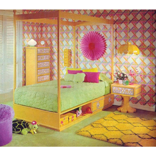 1970s Kids Bedroom Set by Drexel Plus One With Original Booklet - 6 Pc. Set For Sale - Image 10 of 11
