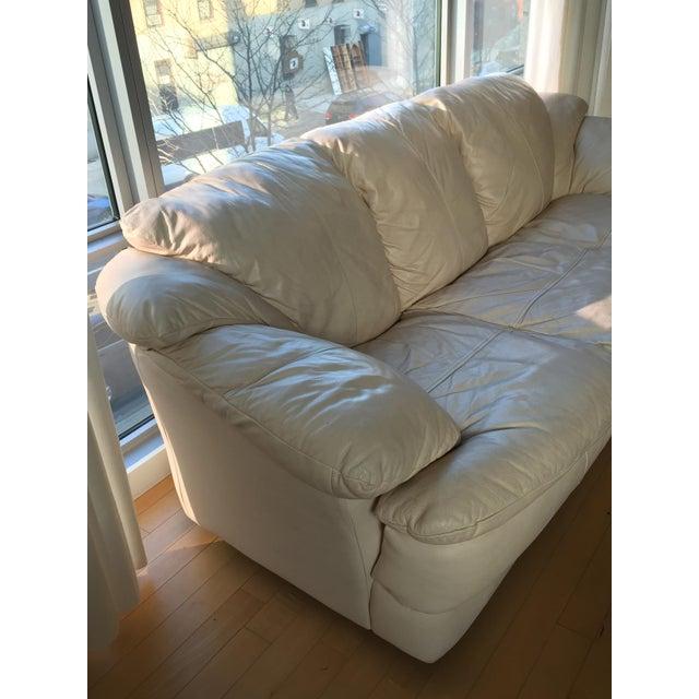 Natuzzi Italian Leather Sofa - Image 4 of 11