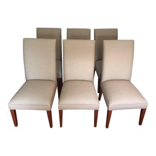 Restoration Hardware Dining Room Chairs - Set of 6 For Sale