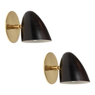 1950s Sconces Attributed to Gino Sarfatti for Arteluce - a Pair For Sale