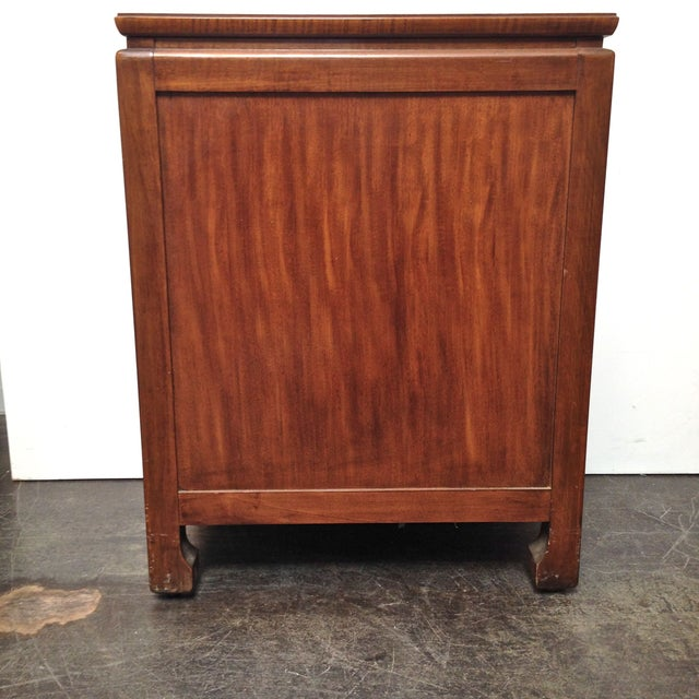Thomasville Burled Asian Style Cabinet - Image 7 of 8