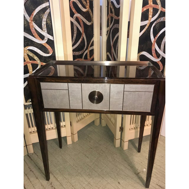 2010s Single Drawer Entry Console For Sale - Image 5 of 7