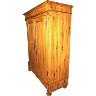 19th C. Provincial Country Pine Armoire Preview