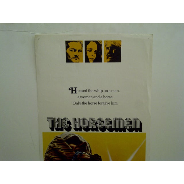 """American 1971 Vintage Movie Poster of """"The Horsemen"""" For Sale - Image 3 of 5"""