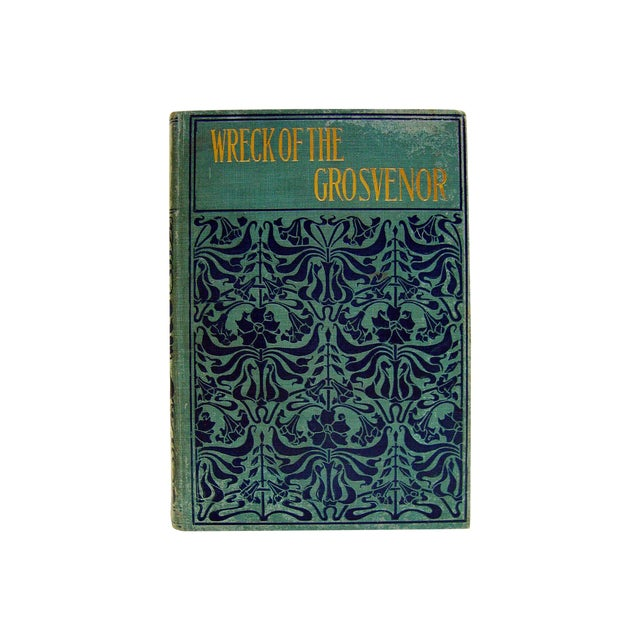 Antique 1890 'Wreck of the Grosvenor' Book For Sale