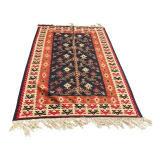 Turkish Tree of Life Kilim, 50 to 60 Years Old For Sale