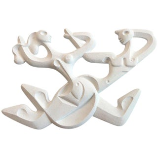 Frederick Weinberg Lighted Wall Sculpture For Sale