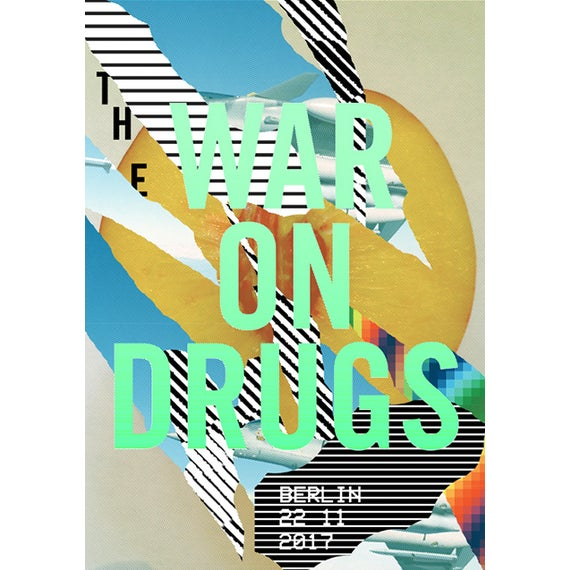 Contemporary 2017 Contemporary Music Poster - the War on Drugs For Sale - Image 3 of 3