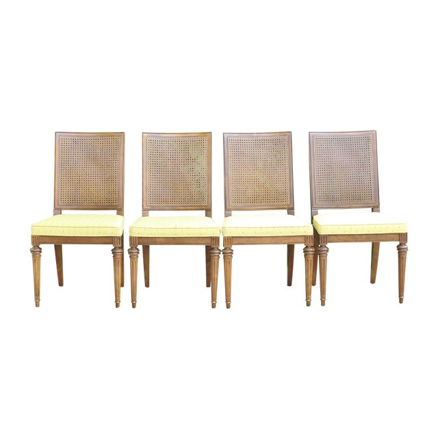 Hickory Directoire Style Dining Chairs - Set of 4 - Image 1 of 10