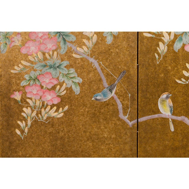 Like new Showroom Sample - Shipping included. Inspired by the Rinpa School of Japanese paintings, founded by Ogata Korin,...
