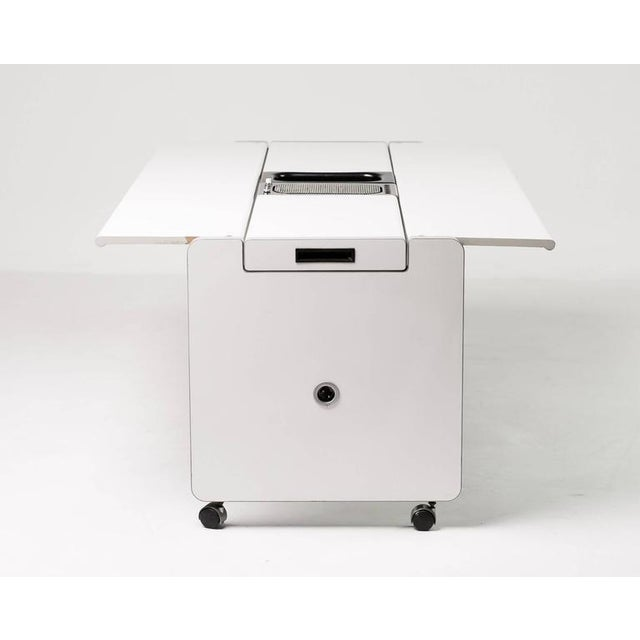 """Wood Joe Colombo Dining Trolley, """"Living Center"""" Series for Rosenthal For Sale - Image 7 of 10"""